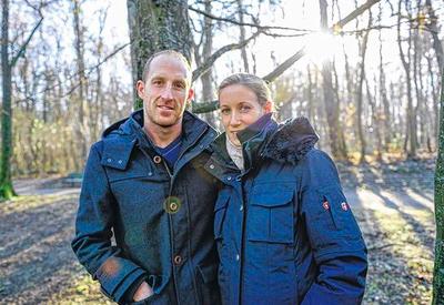 Thomas Lurz & Annette Baumann werden im Frühjahr 2014 Eltern (Foto: Thomas Obermeier)