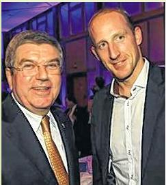 Thomas Lurz & IOC Präsident Thomas Bach